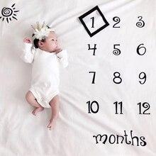 Веху Подставки для фотографий новорожденных фон для детской фотосъемки с Одеяло на рост Одеяло декоративное фоновое полотно для празднова...