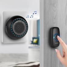 KERUI Doorbell ยินดีต้อนรับบ้านกันน้ำ Doorbell ไร้สายสมาร์ทแหวนกระดิ่ง 100M แบตเตอรี่ลิเธียม Doorbell