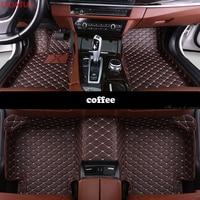 Custom car floor mats for BMW all models X3 X1 X4 X5 X6 Z4 f30 f10 f11 f25 f15 f34 e46 e90 e60 e84 e83 e70 e53 g30 e34 car mats