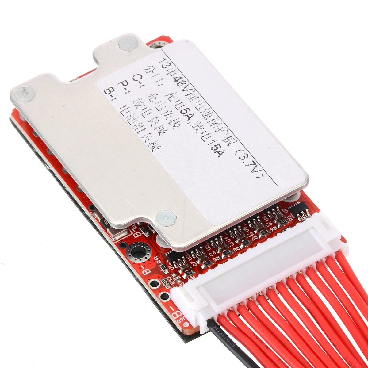 Mayitr 1pc 13S batterie au Lithium carte de Protection 48 V/54.6 V 15-45A 18650 Li-ion li-polymère batterie BMS PCB