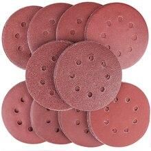 Pads Sandpaper Sanding-Discs for Random-Orbital-Sander 40-60-80-100-120 150-180 240 320