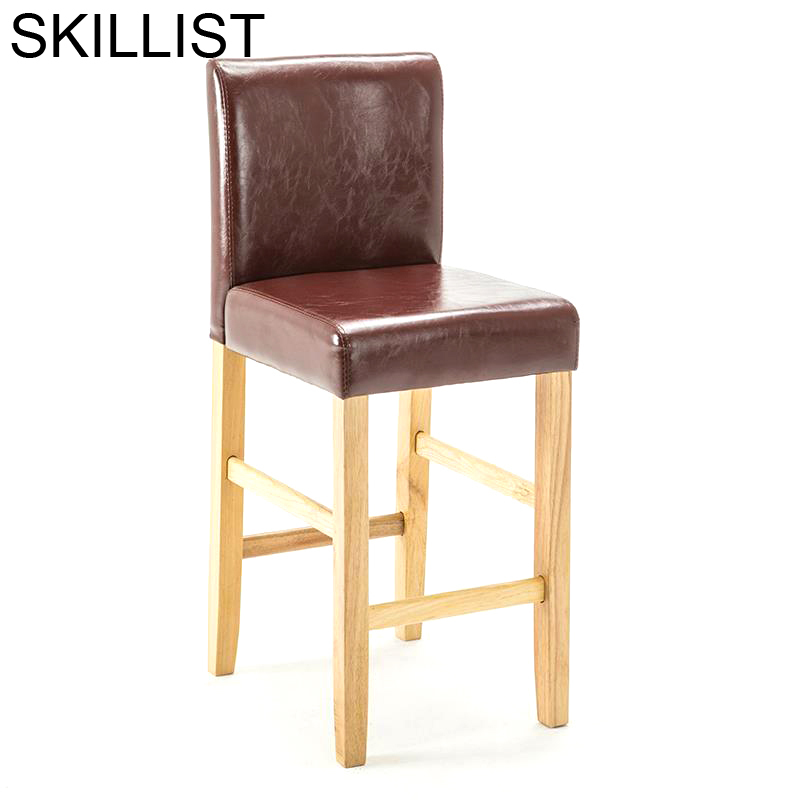 Stuhl Table Industriel Sandalyeler Bancos Moderno Fauteuil Sedia Leather Cadeira Stool Modern Tabouret De Moderne Bar Chair