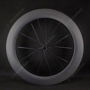 Image 4 - משלוח חינם שוויצרי 350 כביש אופניים U צורת Aero גלגלי כביש דיסק בלם DT אופני מירוץ Centerlock Thru Axle ללא פנימית /נימוק מכריע