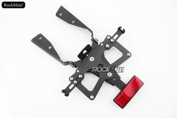 License plate Bracket For SUZUKI GSX-R1000 2005 Motorcycle Registration Plate Holder Tail Tidy Eliminator Red Reflector Panel