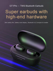TWS Bluetooth Earphones Long Battery Touch-Control Haylou Gt1 Stereo Dual-Mic Isolation