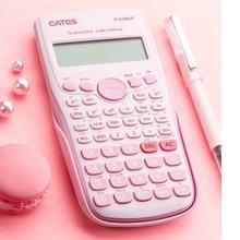 Calculadora científica digital 240 funções, 82ms estatística, matemática, 2 linhas de exibição D-82MSP para estudantes, escola, graduação