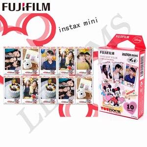 Image 4 - 10 yaprak Fuji Fujifilm instax mini 9 filmler 3 inç film anında kamera mini 8 9 7s 25 50s 90 dondurulmuş Pokemon fotoğraf kağıdı