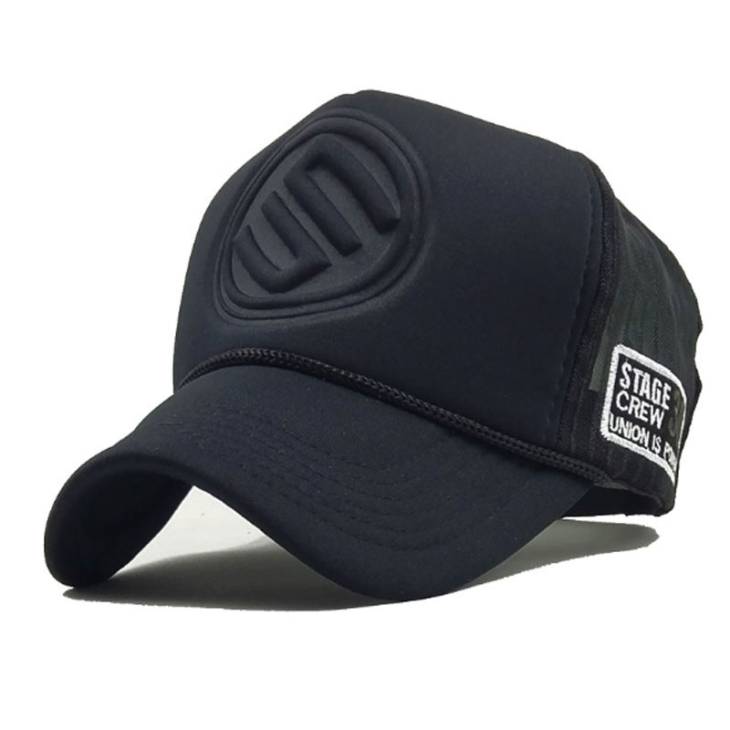 Brand Baseball Caps Summer Mesh Snapback Hats For Women Men Hip Hop Hat Casual Casquette Trucker Cap Gorra Hombre