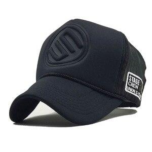 Brand Baseball Caps Summer Mesh Snapback Hats For Women Men Hip Hop Hat Casual Casquette Trucker Cap gorra hombre(China)
