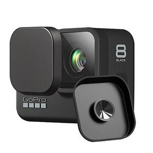 Image 2 - 9 ใน 1 ชุดซิลิโคนกรณีเลนส์ป้องกันกระจกนิรภัยป้องกันฟิล์มสำหรับ GoPro HERO 8 Action กล้องอุปกรณ์เสริม
