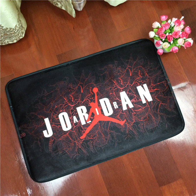 40x60cm/50x80cm Home Textile NBA Basketball Star  Kobe Carpet Soft Flannel Non-slip Mats Rug For Bathroom Door Living Room
