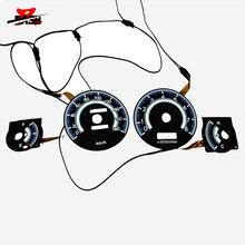 DASH EL glow gauge für RHD Corolla AE100 1993 1997 180 km 8000 RPM Black Panel Reverse White licht