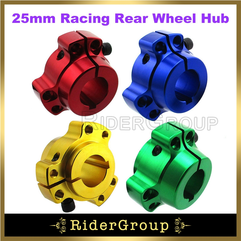 Set of 2 Gold 1 Rear Lightened Aluminum Racing Wheel Hubs Go Kart Drift Trike