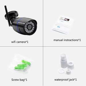 Image 5 - Wifi IP Camera 720P 1080P 5MP Wireless TF Card IP Security Camera Outdoor Bullet CamHi Keye P2P Onvif for CCTV Home Security Cam