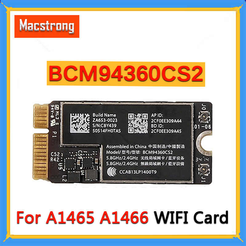 Tested BCM94360CS2 A1466 WIFI Card For Macbook Air 11