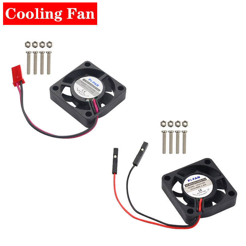 Cooling Fan Cooler For Raspberry Pi 4 3 2 For Orange Pi For Retroflag Case