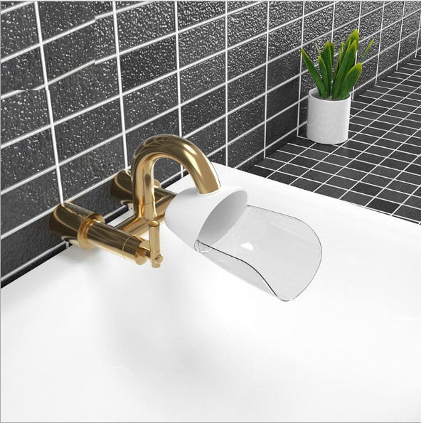 High Quality Minimalist Style Safety Water Faucet Extender Hand Wash Toddler Kids Helper