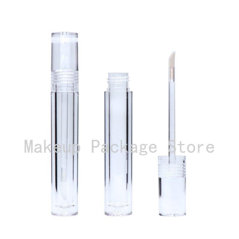 Пустой прозрачный контейнер для блеска для губ, контейнер для губной помады 5,5 мл, 25/30/50 штук, прозрачный контейнер для блеска для губ
