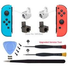 Accesorios para Nintendo Switch, hebillas de bloqueo de Metal Con herramientas de apertura para Nintendo Switch, reemplazo para Kit de reparación de Joycon