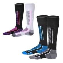 Детские зимние теплые лыжные носки Плотные хлопковые теплые носки Сноубординг Велоспорт Лыжный спорт для походов носки гетры
