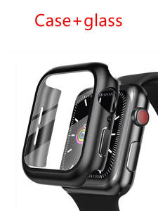 Cover Bracelet Tempered-Glass Case 44mm Watch-Series 40mm 38mm for Apple 3-44 6-5 42