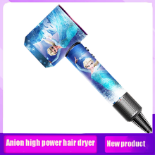 Hair-Dryer Household-Appliances Negative-Ion High-Power Hot And Disney Cold-Air-Constant-Temperature-Adjustment
