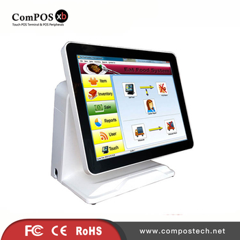 POS terminal 15 inch capacitive touch screen POS machine POS all in one machine for supermarket