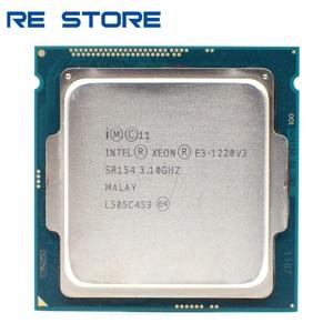 Image 1 - משמש Intel Xeon E3 1220 V3 3.1GHz 8MB 4 Core SR154 LGA1150 מעבד מעבד E3 1220V3