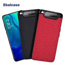 For Samsung Galaxy A80 Case Cloth Shockproof Case for Samsung S10 S10E S9 S8 S7 Plus 5G A30 A40 A50 A70 A90 Note 8 9 10 Pro Case shockproof armor case for samsung galaxy note 10 pro s10 5g s10 plus a30 a50 a60 a70 leather silicone case s9 s8 note 9 cases