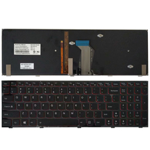 NEW US Keyboard For Lenovo Y590 Y500 Y510P US Laptop Keyboard Blacklight