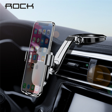 ROCK Foldable Car Phone Holder For iPhone X XS Samsung Huawe