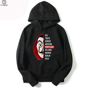 New Arrival La Casa De Papel 3D Print Women/men Hoodies Sweatshirts Poleron Hombre Money Heist The Paper House Casual Men Hooded(China)