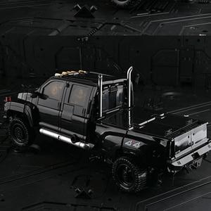 Image 5 - TransformationสีดำMamba BMB LS 09 LS09อาวุธIronhide KO Action Figureโลหะผสมโลหะภาพยนตร์Action Figureรูปของเล่น