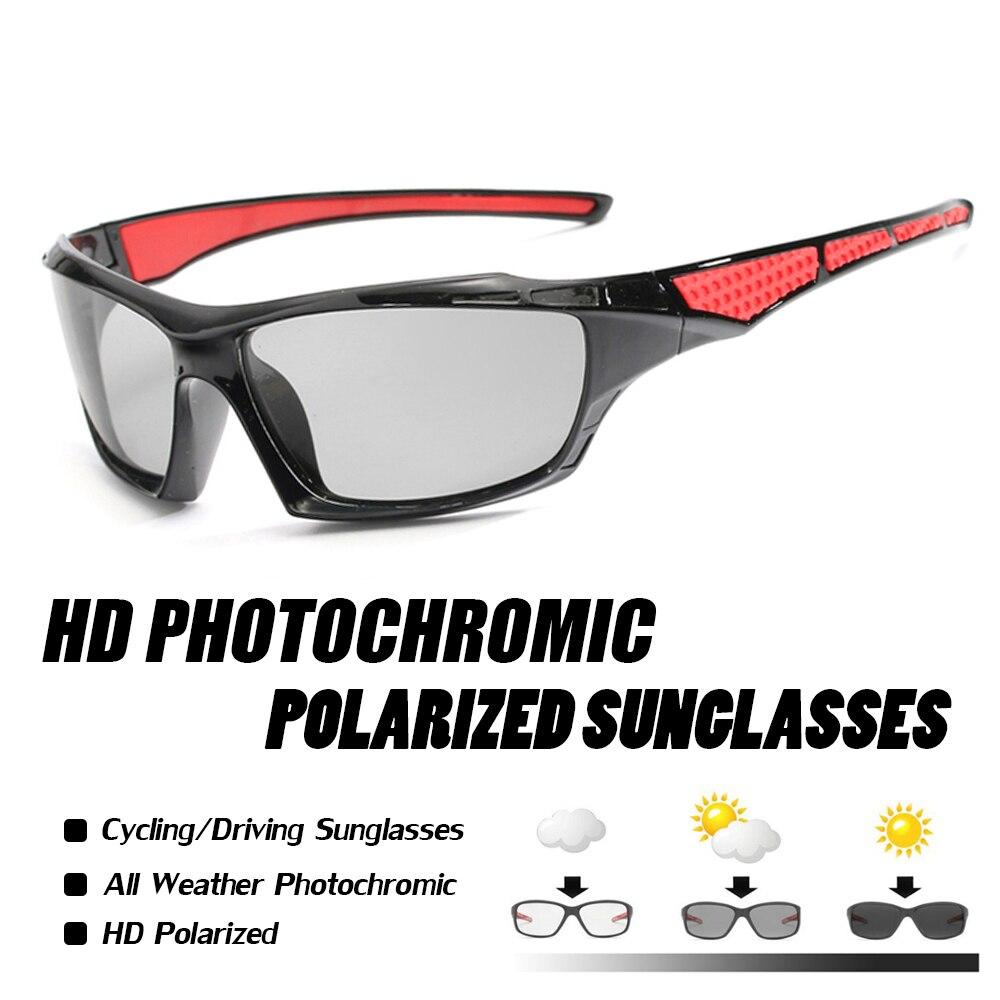 Polarized Photochromic Sunglasses Men Bike Goggles Bicycle Women Outdoor Sport gafas ciclismo