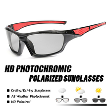 Polarized Photochromic Sunglasses Men Bike Goggles Bicycle Women Outdoor Sport gafas ciclismo