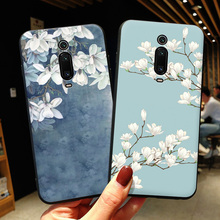3D Emboss Flower Cartoon Case For Xiaomi Mi 9T Mi9 T Mi9t Pro case Soft silicone cover xiomi 9t 9se 9 SE