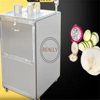 Stainless steel multi function fruit and vegetable transect beveling slicer cutter machine