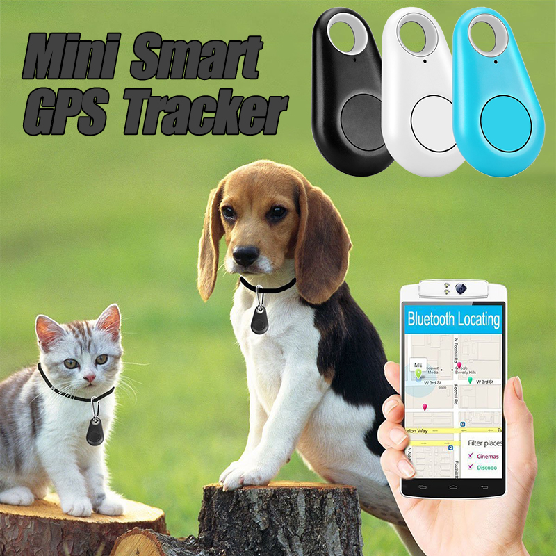 2020 New Mini Smart GPS Tracker For Pets Bluetooth Tracer Anti-lost For Pet Dog Cat Keys Wallet Bag Kids Trackers Dropshipping