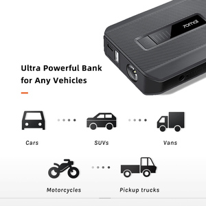 Image 5 - 2020 Hot Sell 70mai Jump Starter Max 18000mah 1000A Power Bank Car 8.0L  Charger 12V Auto Buster Car Emergency Booster