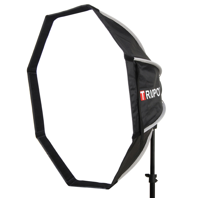 Triopo 120cm Photo Studio Bowens Mount Portable Outdoor Octagon Umbrella Softbox For Photography Video Lighting Soft Box
