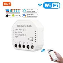 2 Pieces Tuya Wifi Smart Light Switch Diy Breaker Module