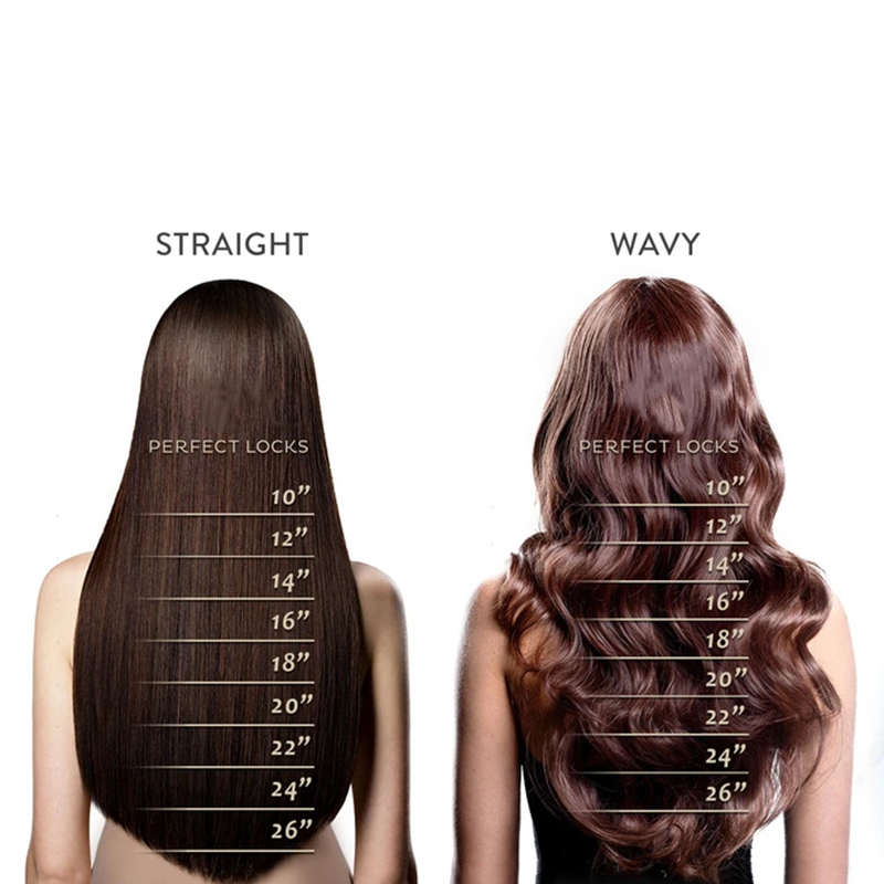 3pcs Set 18'' 24''Hair Extensions Full Head Clip In Extensions for Women Thick Natural Hair Extensions Silky Straight Curly