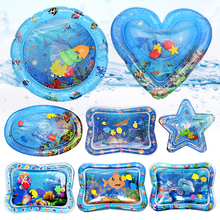 Baby Inflatable Patted Pad Multifunction Water Play Mat Creative Toddler Activity Sensory Cushion Crawling Kids Water Mat Toy