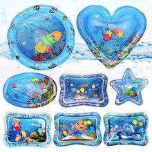 Baby Inflatable Patted Pad wielofunkcyjna mata do zabawy w wodzie kreatywna maluch aktywność poduszka sensoryczna indeksowanie dzieci mata wodna zabawka