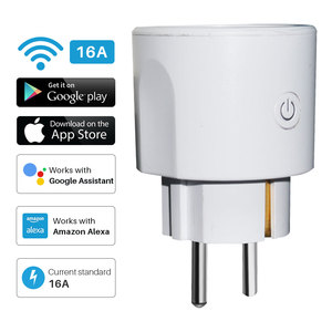Image 1 - Smart Power Plug WiFi 16A EU Intelligent Timing Socket Tuya APP Remote Control Voice Control Works With Alexa Google Home Mini