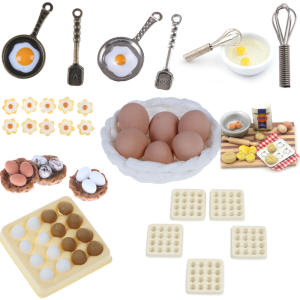 Toy-Decoration Kitchen-Toys Vegetables Fruits Play Food-Pretend Children Egg Fun Christmas-Toy
