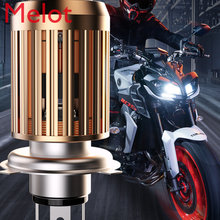 150 Motorcycle LED Headlight Modification Accessories Far and near Light Integrated Super Bright Lens Car Bulb