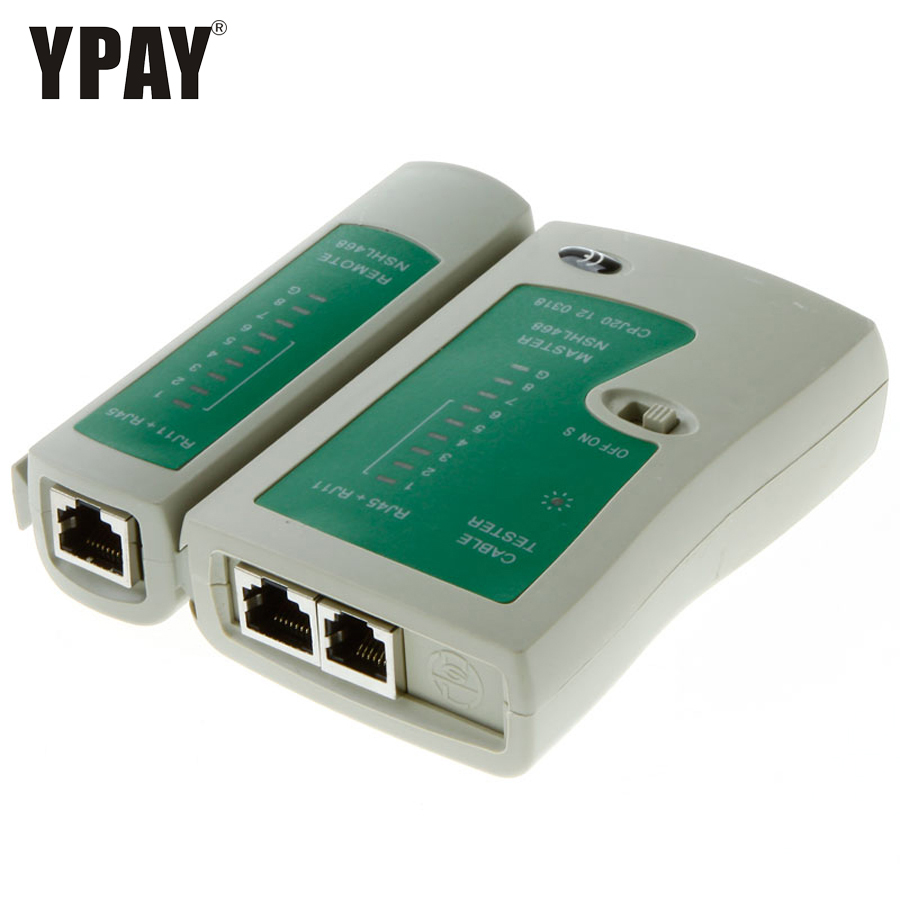 YPAY Network Tester Tool Wire RJ11 Rj12 RJ45 8p 6p Line Telephone Rg45 Ethernet Cable Main Remote Serial Test Rg Rj 45 Cat6 Cat5