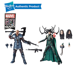 Hasbro Marvel Legends Series Thor: Ragnarok 6-Inch-Scale Movie-Inspired Skurge And Marvel's Hela Collectible Action Figure