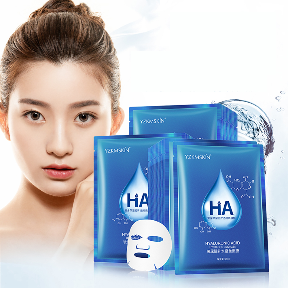 Mask Sheet Hydration Face Care Moisturizing Repair Skin Barrier Hyaluronicacid Essence Mask Summer Hydrate After Sun Exposure